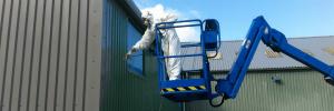 Cladding Spraying Worcestershire