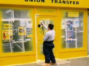 Shopfront Spraying Warwickshire