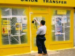 Shopfront Spraying Staffordshire