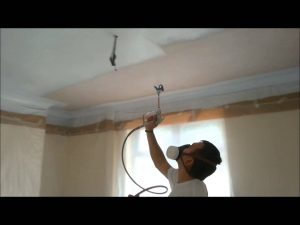 Ceiling Spraying Worcestershire
